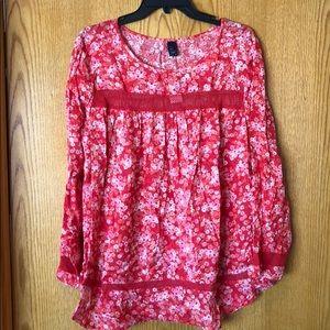 Floral gap blouse